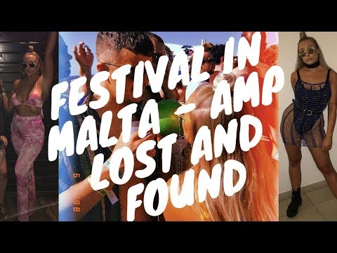 AMP LOST AND FOUND FESTIVAL (MALTA!) 101: WHERE TO STAY/HOW MUCH DID I SPEND ETC