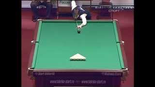 А. Паламарь - К. Сагынбаев. ЧМ 2009, 1/2 финала, русский бильярд