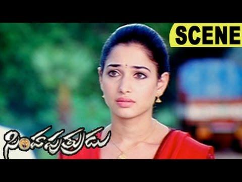 Dhanush Break-Ups With Tamanna - Emotional Scene || Simha Putrudu Movie Scenes