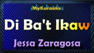 Di Ba't Ikaw - Karaoke version in the style of Jessa Zaragoza