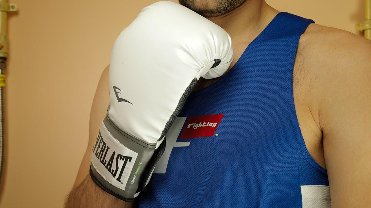 Shiv Naresh Teens Boxing Gloves 12oz: Everlast Pro Style Training Boxing Gloves Unboxing