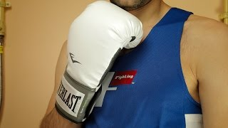 Everlast Pro Style Training Boxing Gloves Unboxing & Review   Gear Mania