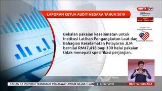 24 Ogos 2020 Berita Perdana Laporan Ketua Audit Negara Tahun 2019 Youtube