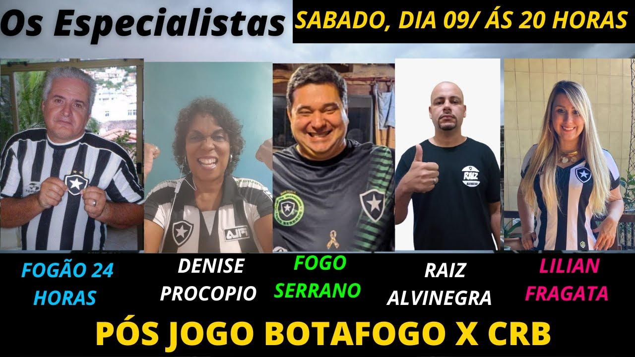 OS ESPECIALISTAS: DENISE PROCOPIO/RAIZ ALVINEGRA/FOGO SERRANO/LILIAN FRAGATA