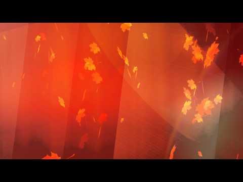 Free BG 002 Autumn (Осень, падающие листья, бесплатный)