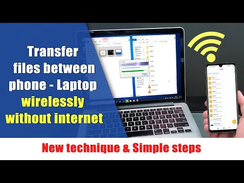 Transfer Files From Phone To Laptop Wirelessly Without Internet