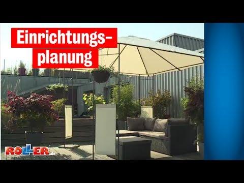 Einrichtungsplanung - Terrasse einrichten