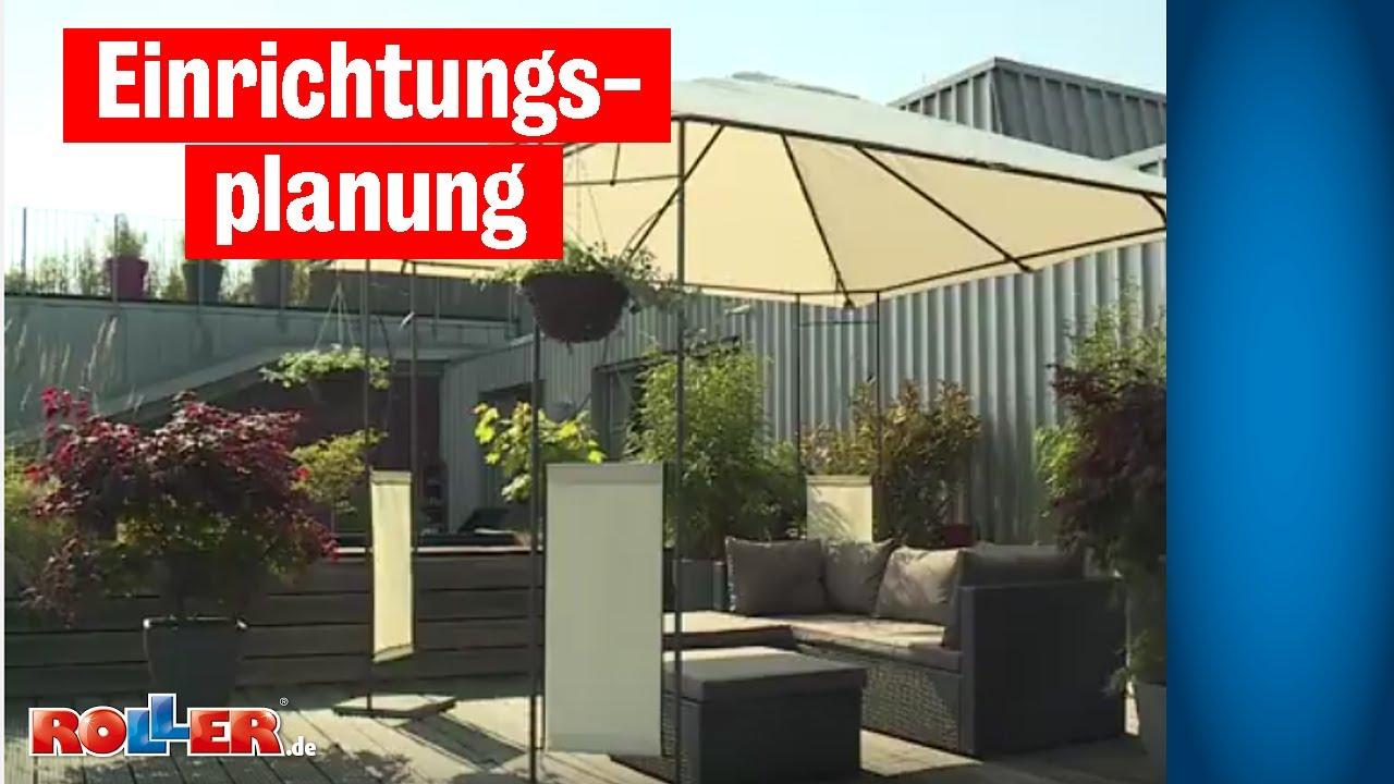 einrichtungsplanung terrasse einrichten youtube. Black Bedroom Furniture Sets. Home Design Ideas