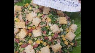 Салат из консервированной фасоли с тунцом: рецепт от Foodman.club