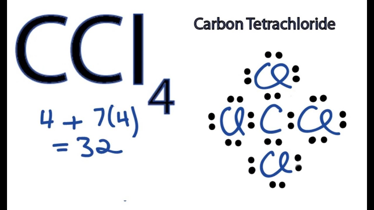lewis dot diagram steps duraspark wiring ccl4 structure how to draw the for carbon tetachloride youtube