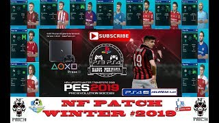 PES 2018 PS4 NF PATCH Winter Transfer 2019