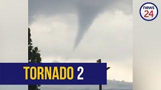 WATCH   Second tornado touches down in Bergville, KZN