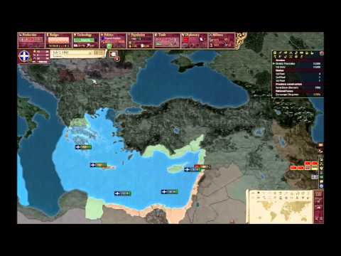 Victoria 2: Let's play Greece part1