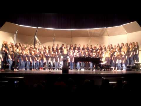 I Just Can't Wait To Be King DHMS 8th Grade Choir May 2014