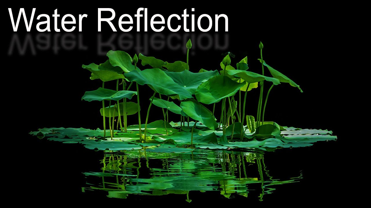 How to Create Realistic Water  Reflections in Photoshop 7.0 Tutorial (Bangle)