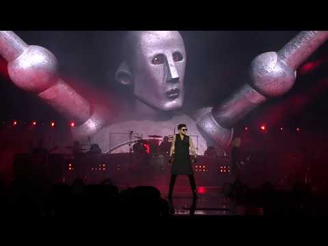 Queen + Adam Lambert - Intro + WWRY + Hammer To Fall (Helsinki 19.11.2017)