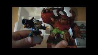 Skylanders Giants - Starter Pack Unboxing (Wii)