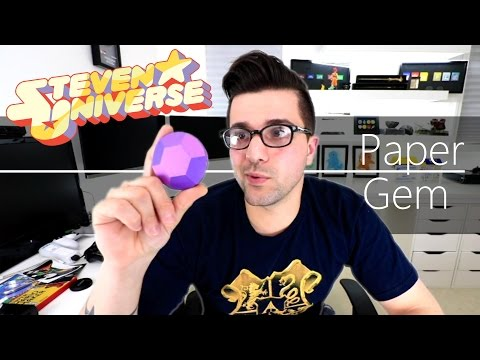 Steven Universe , How To Make Paper Gems
