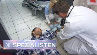 Ein Indianer kennt keinen Schmerz? Allergischer Schock in der Klinik! | Auf Streife | SAT.1 TV