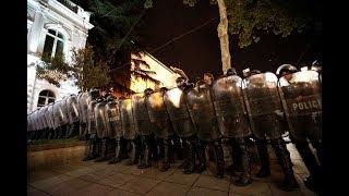 Драки с полицией Грузия лучшие бои 12 мая 2018
