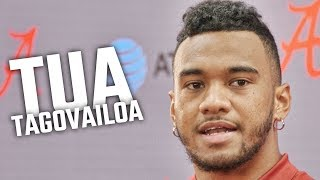 Alabama's Tua Tagovailoa gives 1st interview of 2018 season