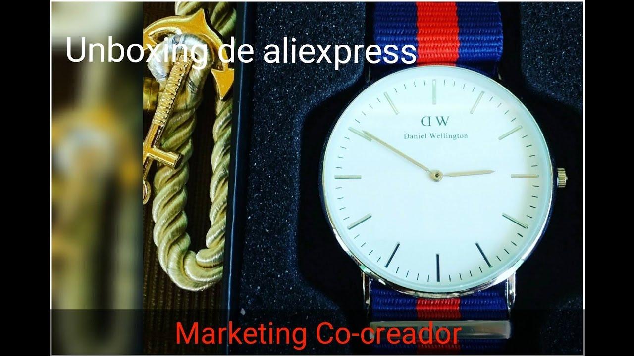 Relojes Daniel Wellington replicas Aliexpress  4b3d77241b72