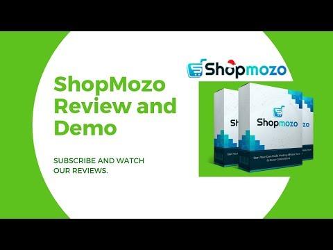 ShopMozo Review - http://bit.ly/2Rrabx9 - 1-Click Easy Affiliate Store Builder. http://bit.ly/2lzZJsg