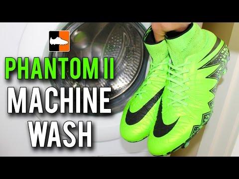 Putting the Nike Hypervenom Phantom II Boots in the Washing Machine