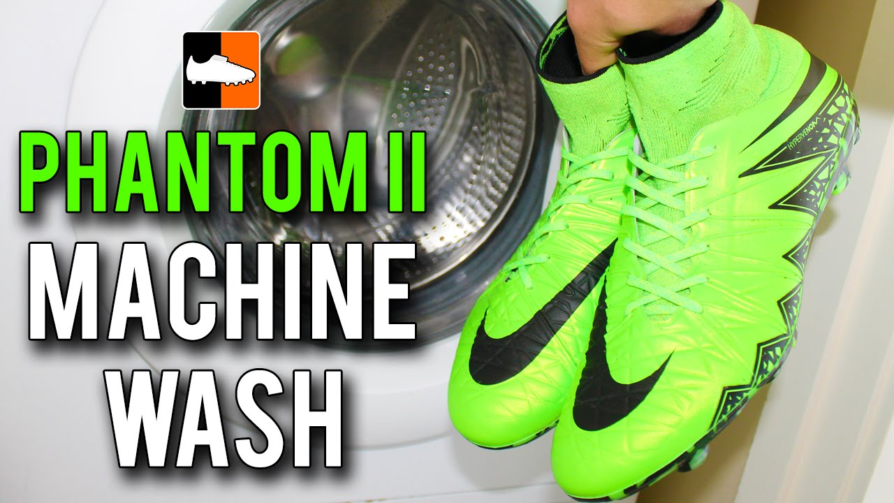 finest selection aae70 4c895 Putting the Nike Hypervenom Phantom II Boots in the Washing Machine. Football  Boots