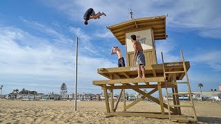 WE BROKE THE ONLY RULE! *LIFEGUARD WAS PISSED*