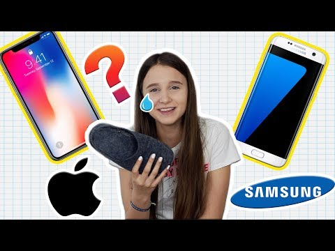 iPHONE oder SAMSUNG 😲  ? Entweder oder Challenge - Celina