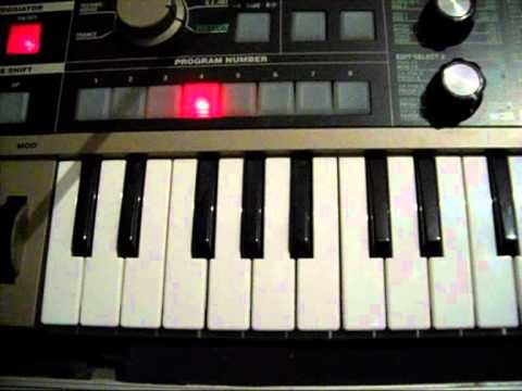 Tutorial Ext  Audio to Microkorg Vocoder ( ITA )