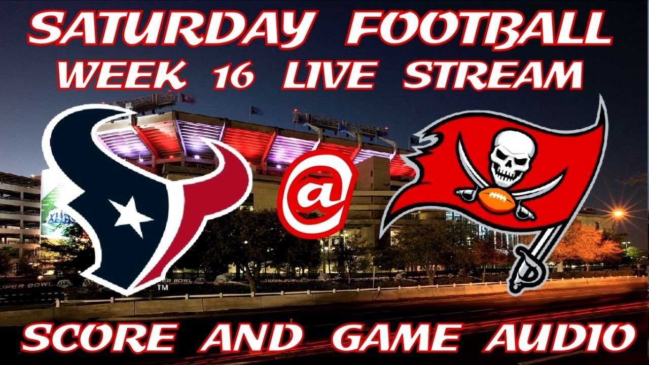 How to Watch Texans vs. Buccaneers, NFL Week 16 Live Stream ...