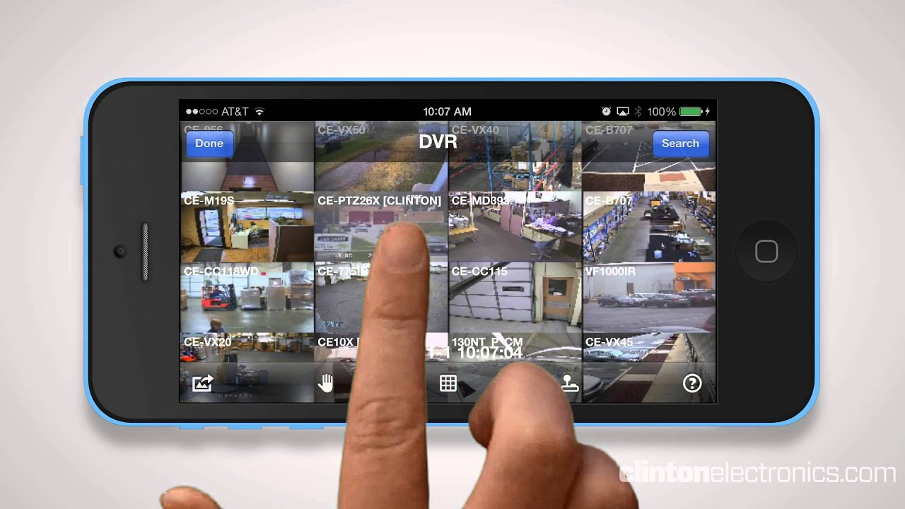 CEC Connect: The Ultimate CCTV DVR app for iOS & Android Devices