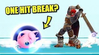 Super Smash Bros. Ultimate - Who Can Break a Shield in One Hit?
