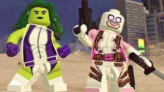 Como Desbloquear a Gwenpool + Batalha de Rap: Lego Marvel Super Heroes 2