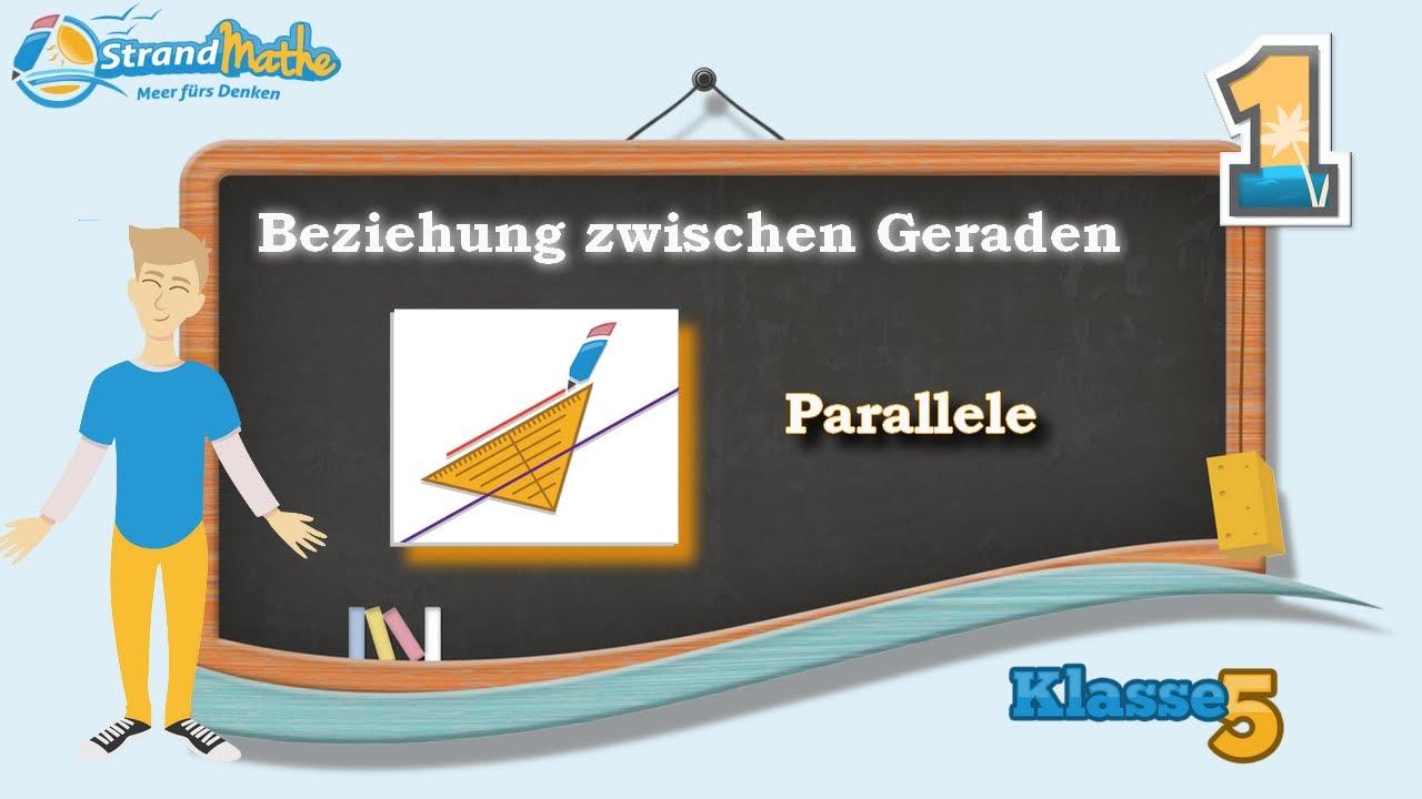 Geraden verstehen - senkrecht parallel Beziehungen || Klasse 5 ...