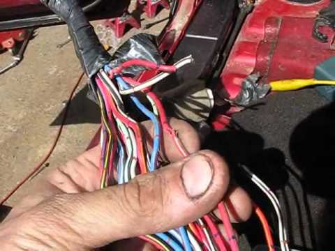hqdefault 94 4runner wire harness repairs & going camping! (08 18 11) youtube 2010 wire harness for a 2010 john deere at n-0.co