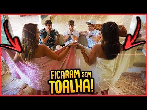 ELAS FICARAM DE TOALHA NA FRENTE DOS IRMÃOS!! - TROLLANDO IRMÃOS BERTI [ REZENDE EVIL ]