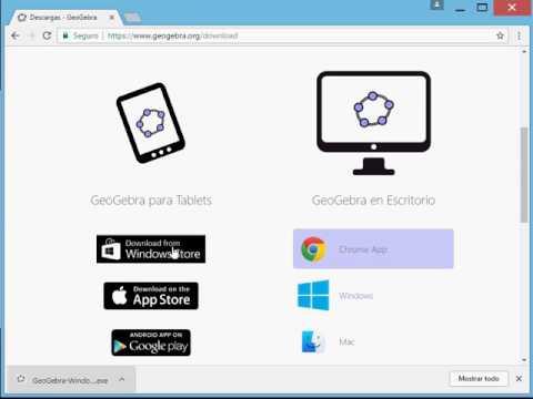 ¿Cómo Descargar E Instalar Geogebra En Windows?