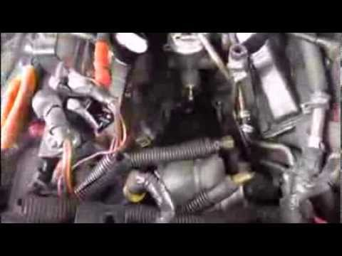 1996 Ford power stroke lift pump - YouTube