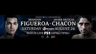 KQKC BOXING TALK: CALLING THE FIGUEROA V. CHACON FIGHT ALL RESTED UP FROM THE OG