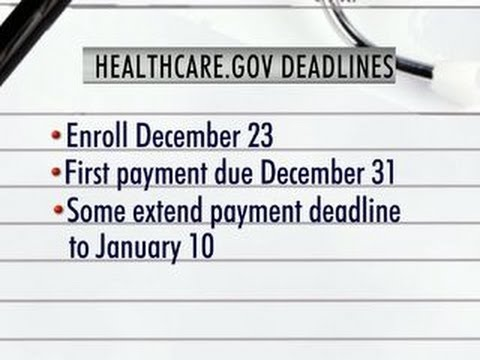Some Insurance Companies Extend Sign Up Deadline