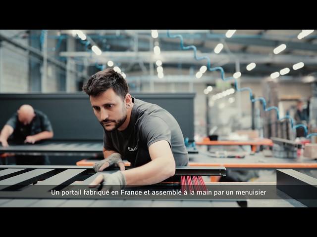 Portails sur-mesure de fabrication française
