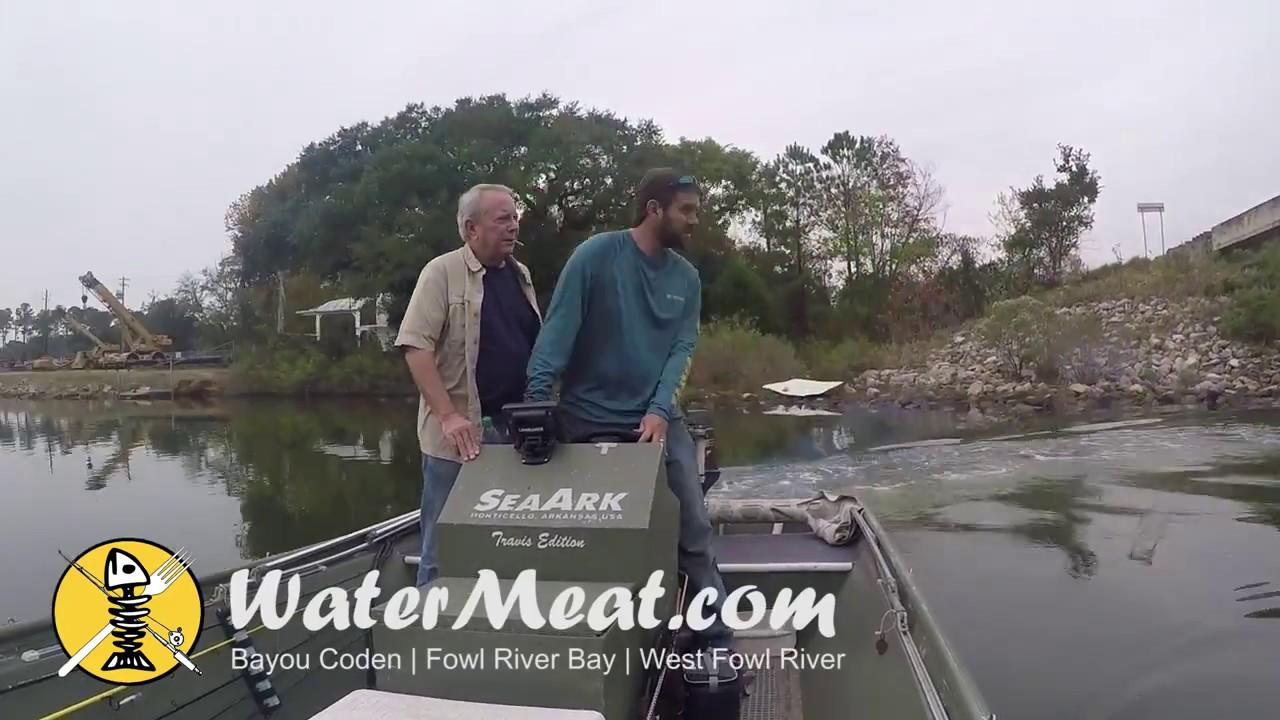 Fishing West Fowl River Fowl River Bay 11 13 16 Youtube