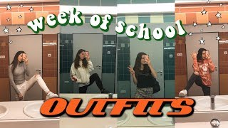My outfits of the week ! (what I wear to school)