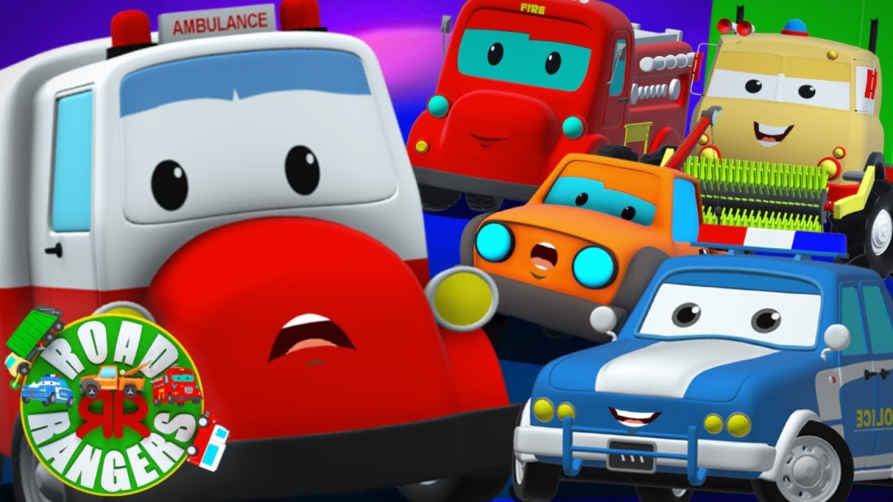 Donna's Day Out   Road Rangers    Ambulance Cartoons For Kids