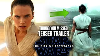 Star Wars The Rise Of Skywalker Trailer Things You Missed (Star Wars Episode 9 Teaser Trailer)