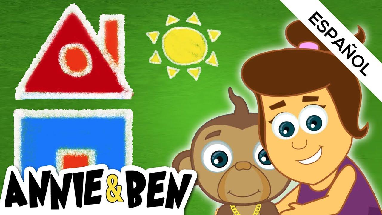 Aprende las figuras geométricas con Annie y Mango | Las Aventuras de Annie y Ben