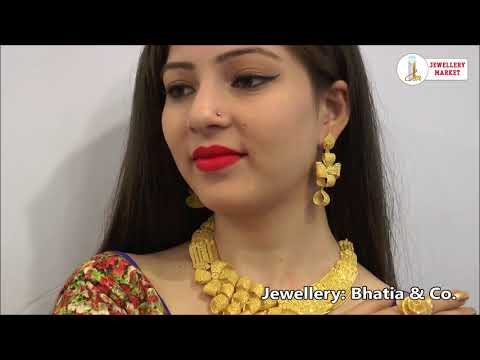 JWPb jewelry designs by Bhatia & Co. (Delhi) and Siddhi Vinayak jewellers (Bathinda)